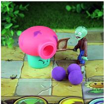 Игрушка Растения против зомби  Гриб розовый Plants vs zombies