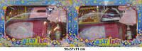 Гладильна дошка 2223/4 з праскою батар., аксес. 2 вида в .кор. 56*37*11 см