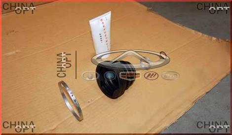 Пыльник внутреннего ШРУСа, +смазка, +хомуты, Chery M11, A21-XLB3AF2203040C, Aftermarket