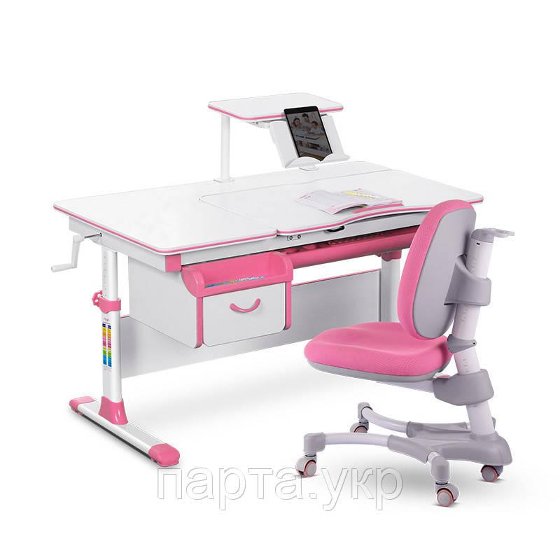 Комплект парта трансформер и детское кресло Evo-kids Evo-40, 2 цвета