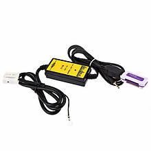 USB AUX MP3 адаптер для магнитолы 12пин Audi VW Skoda Apps2Car WT-USB01