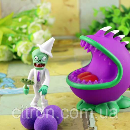 Игрушка Растения против зомби Чомпер Plants vs zombies