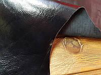 Кожа натуральная Нап-Лак т.1,1-1,2мм цвет черный