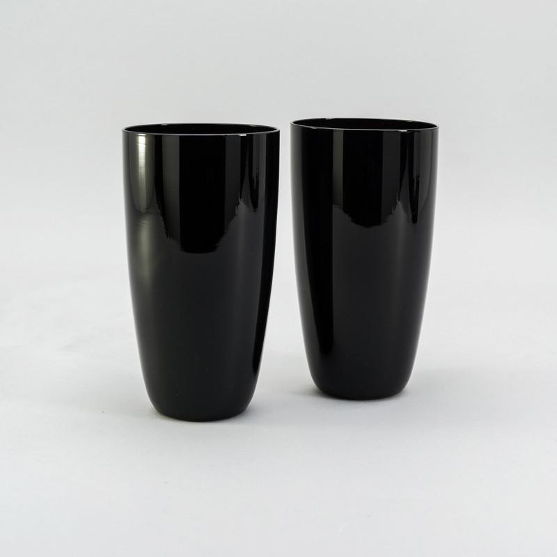Набор черных стаканов 500 мл 2 шт