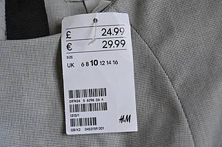 Новое серое платье-футляр H&M, фото 3