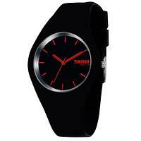 Спортивные мужские часы Skmei Rubber Black II