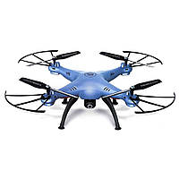 Квадрокоптер Syma X5HW (синій) з WIFI – камерою