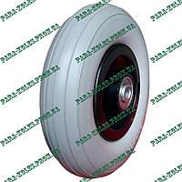 Колесо для тачки 200х50 пенополиуретановое (проколобезопасное), под ось 12 мм