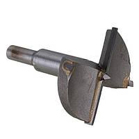 Фреза Форстнера D-35 мм, d-8 мм для дверных петель с ограничителем. INTERTOOL SD-0495