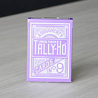 Карты игральные | Tally Ho Reverse Circle back (Purple) Limited Ed. by Aloy Studios / USPCC