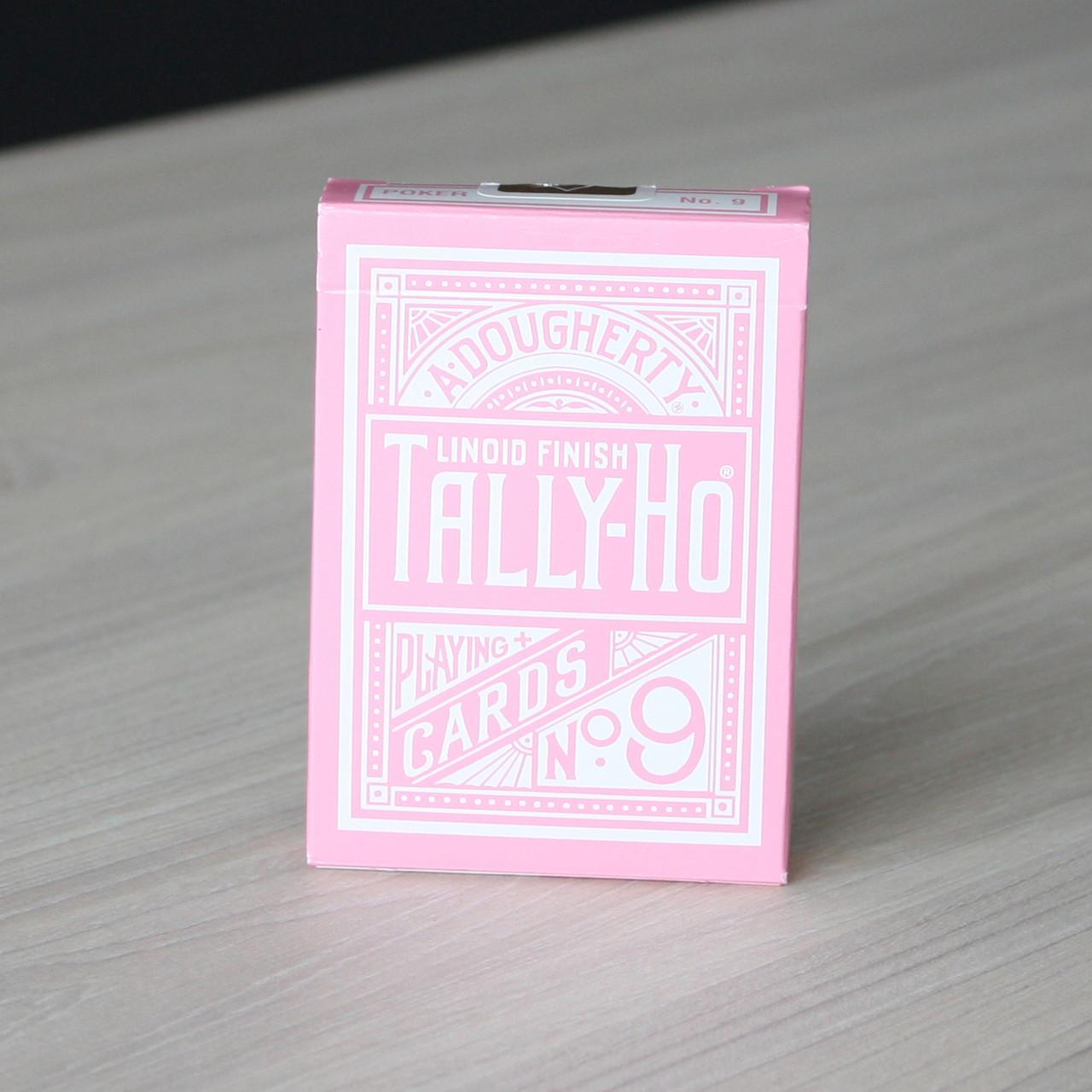 Карты игральные   Tally Ho Reverse Circle back (Pink) Limited Ed. by Aloy Studios / USPCC