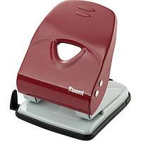 Дырокол Axent Exakt-2 3940-02-A металлический, 40 листов, в ассорт. Красный