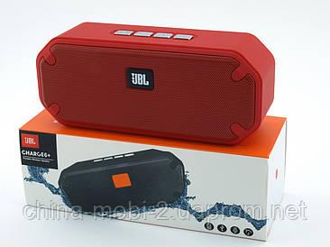 JBL Charge6+ E6+ 8W копия, Bluetooth колонка с FM MP3, красная