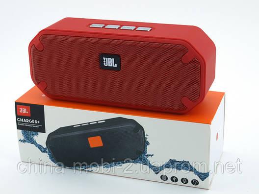 8c0ced799ca2 JBL Charge6+ E6+ 8W копия, Bluetooth колонка с FM MP3, красная, фото 2