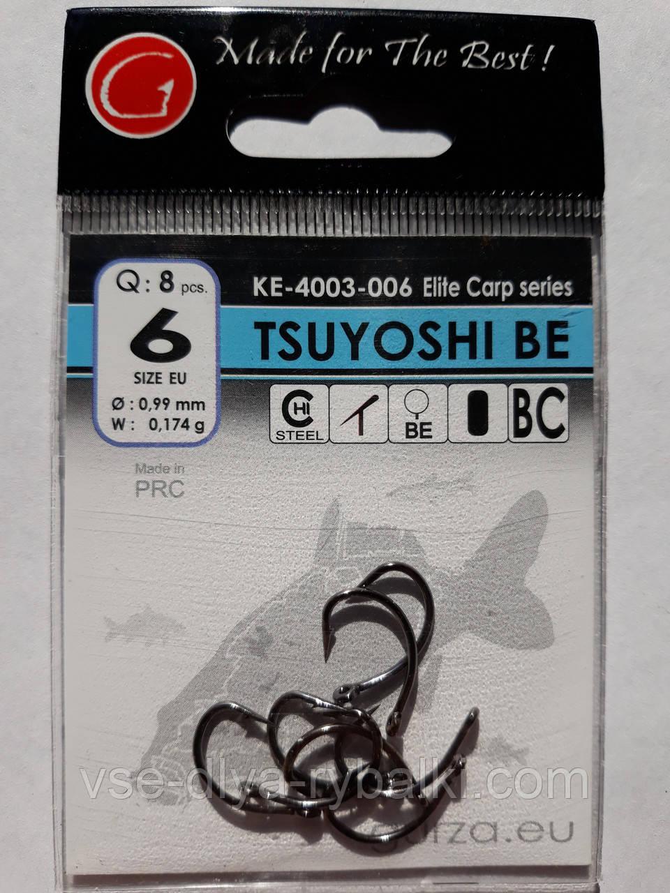 Крючки Gurza tsuyoshi be № 6
