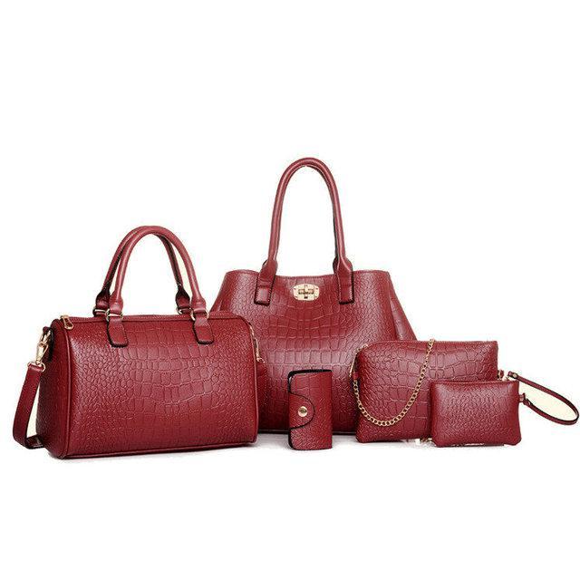 5d154d0fda77 Набор женских сумок 5 в 1, 3 вида - Интернет-магазин сумок рюкзаков Kupi