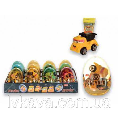 Яйцо-игрушка Prestige Eggs Grayder    6g X 12 шт