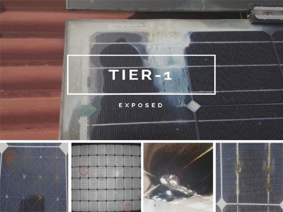 Последний список TIER 1 восемь неисправностей «первосортных» солнечных панелей 2