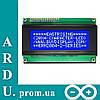 LCD 2004 модуль для Arduino, ЖК дисплей, 20х4 [#F-3]