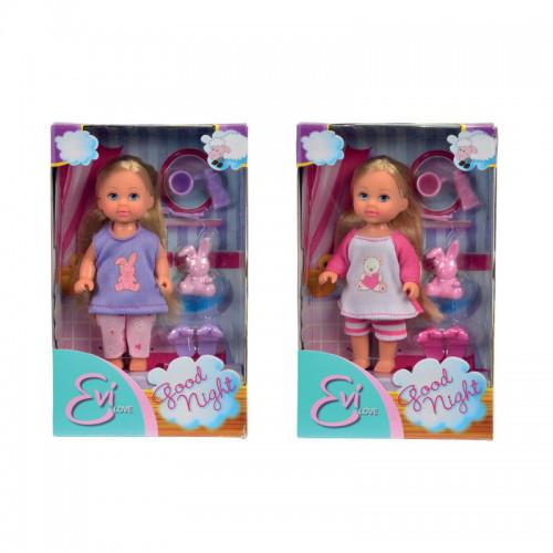 Кукла Еви Спокойной ночи с тапочками SIMBA STEFFI И EVI LOVE 5730515