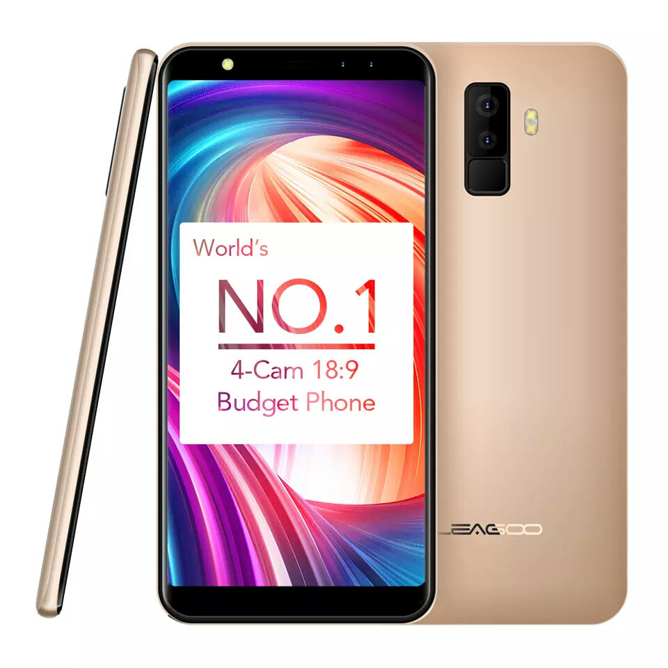 Leagoo M9 Gold 2/16Gb + чехол