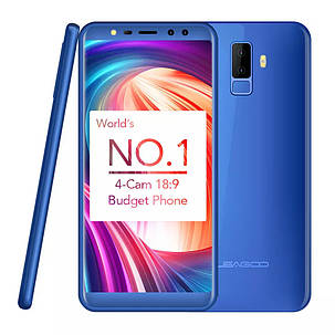 Leagoo M9 Blue 2/16Gb + чехол, фото 2