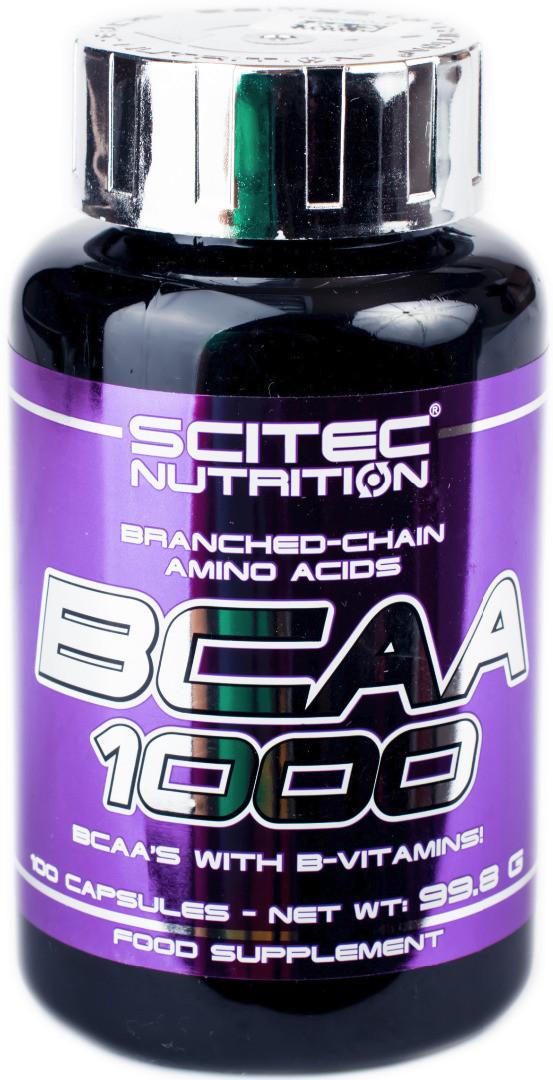 БЦАА Scitec Nutrition BCAA 1000 (100 капсул) скайтек