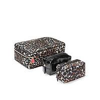 Косметичка 3 в 1 Victoria's Secret (Exotic Leopard Jetsetter Travel Case)