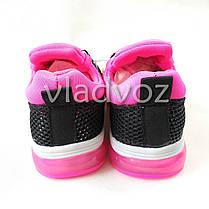 Кроссовки для девочки черные с розовым 32р. Clibee, фото 3