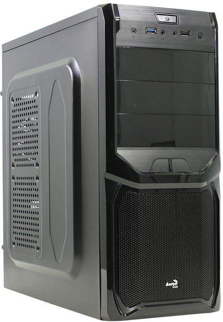 "Корпус AeroCool V3X Advence Black Edition Без БП ""Over-Stock"""
