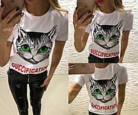 Женская футболка Гуччи