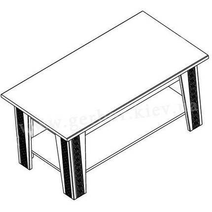 Ірен стіл журнальний ГЕРБОР, фото 2