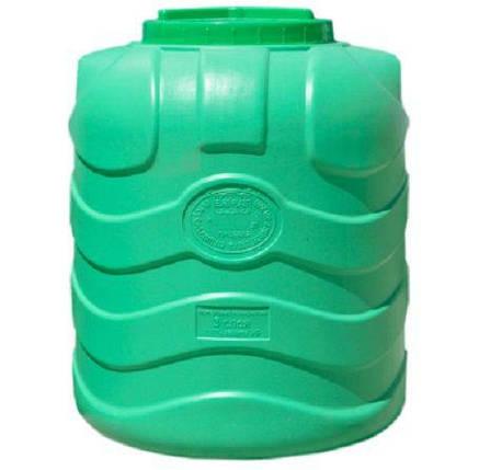 Бесплатная доставка. Емкость, бак, бочка 1000 литров пищевая трехслойная вертикальная RVТ, фото 2