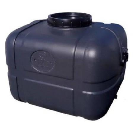 Бочка непищевая 100 литров емкость, бак горизонтальная 100 150, фото 2