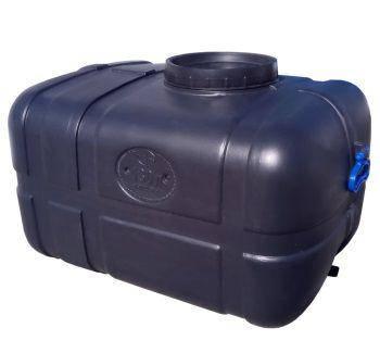 Бочка 2шт. непищевая 130 литров емкость, бак горизонтальная 100 150, фото 2