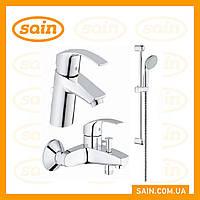 Grohe Eurosmart  набор смесителей для ванной S-Size
