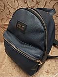 (Лучшее качество)Женский рюкзак искусств кожа городской спортивный стильный только оптом, фото 2