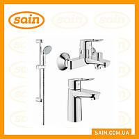 Grohe BauLoop  набор смесителей для ванной