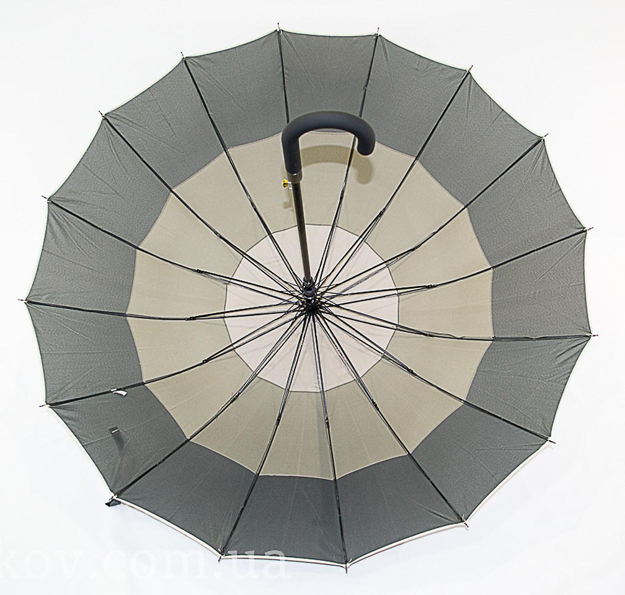 """Зонтик трость для семьи с диаметром купола 113 см. на 16 спиц от фирмы """"SWIFTS"""""""
