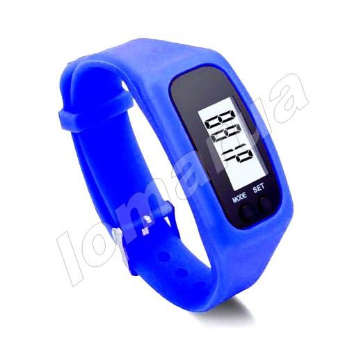 Фитнес браслет часы шагомер счетчик калорий Blue