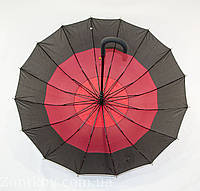"""Зонтик трость для семьи с диаметром купола 113 см. на 16 спиц от фирмы """"SWIFTS"""", фото 1"""