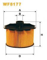 Фильтр очистки топлива Wix wf8177 для автомобилей Citroen, Peugeout