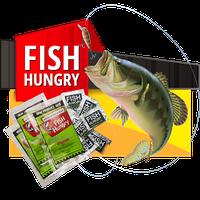 Fish Hungry - активатор клёва для Хищной рыбы (голодная рыба), 5 штук