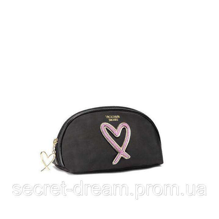 Косметичка Victoria's Secret (Love Patch On-The-Go Beauty Bag)