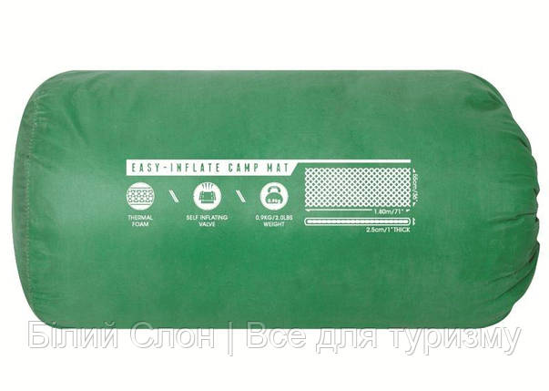 Килимок самонадувний Pavillo Mondor Easy Inflate (180х50x2,5 см), фото 2