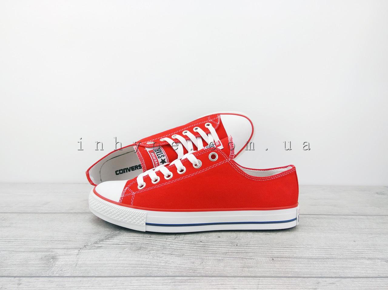 Мужские кеды Converse all Star chuck taylor конверс ол стар красные
