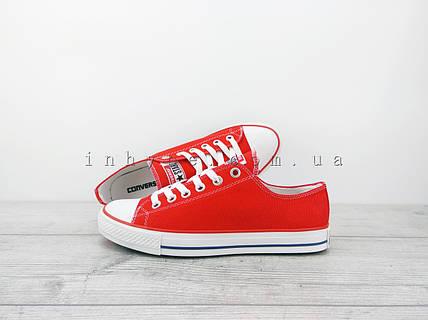 a605c3c76cc2 Мужские кеды Converse all Star chuck taylor конверс ол стар красные ...