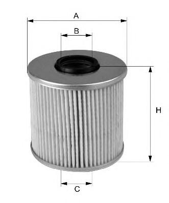 Фильтр очистки топлива WIX WF 8014 для автомобилей Daciа, Opel, Renault