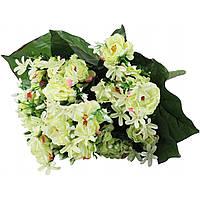 """Букет """"Камелия"""" 21 цветок 40 см с добавками не прессованная №216"""