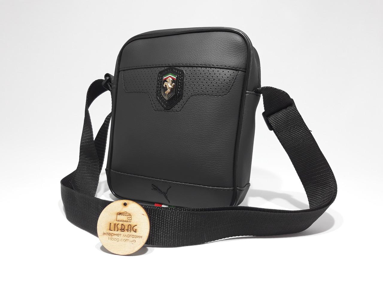 cd1b5a9de1e7 Отличная сумка Puma ferrari на каждый день реплика люкс качества 2х  компонентная кожа PU, ...
